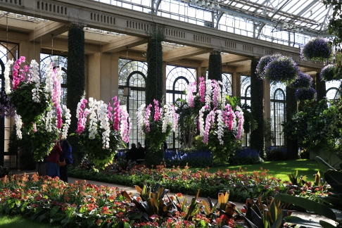 Man Hall, Longwood Gardens, Orchid Extravaganza