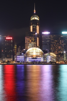 Long Exposure ofVictoria Harbor, Hong Kong