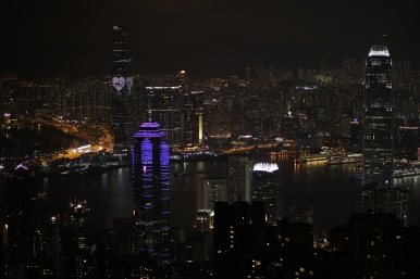 Long Exposure ofVictoria Harbor, Hong Kong