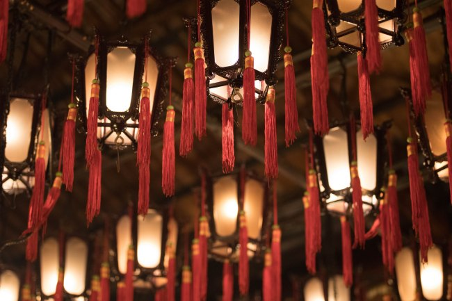 Lanterns from Man Mo Temple Hong Kong
