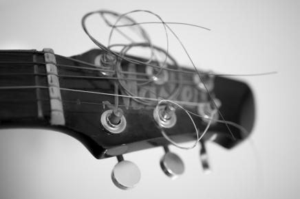 Macro Photography of Master Guitar