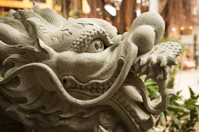 Jade Voice Palace Guardian Dragon