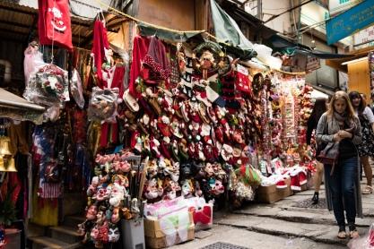 Christmas Time, Hong Kong Street Market