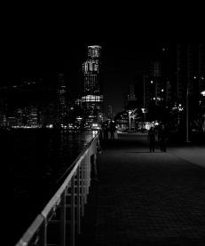 Waterfront, Victoria Harbor, Hong Kong