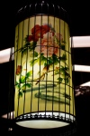 Painted Glass Lantern