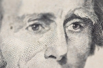 Thomas Jefferson Eyes American $20 note